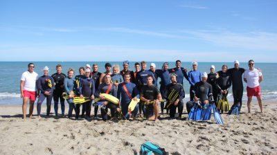Passez votre diplôme de Surveillant Sauveteur en Litroal. Pendant 5 jours, vous apprendrez les diverses techniques et moyens de sauvetage en mer.